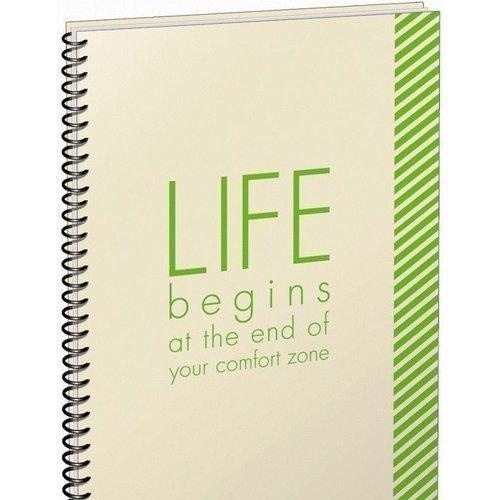 Тетрадь Life begins А4, в клетку покрытие на стол а4 сats life