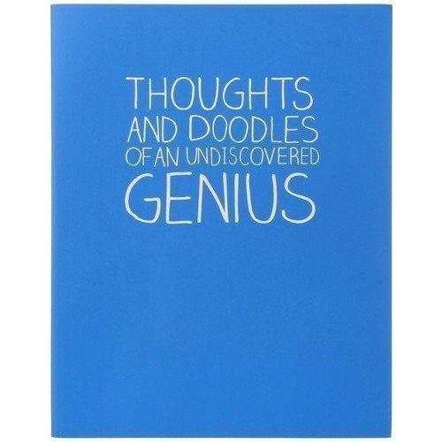 "Тетрадь ""Thoughts and Doodles"", в линейку"