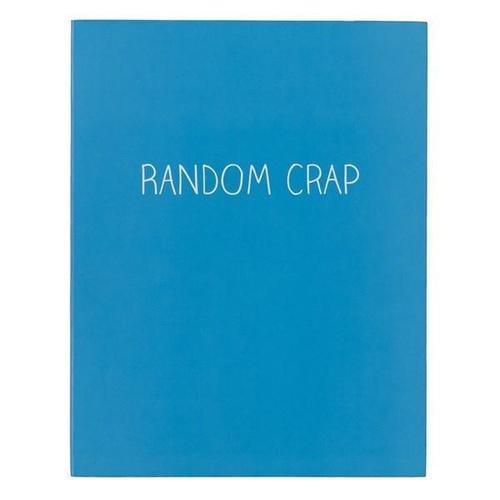 Тетрадь Random Crap, в линейку random kitchenware print mat 1pc