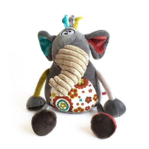 Мягкая игрушка Слоник Робби, 22 см мягкая игрушка beanie babies слоник whopper 25 см