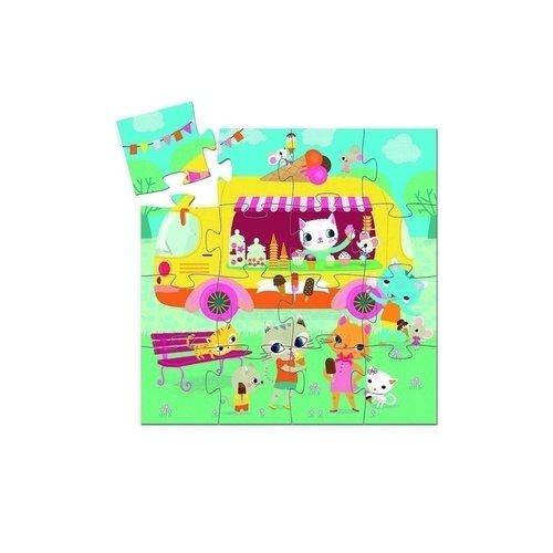 Пазл Мороженое, 16 элементов pj masks пазл для малышей команда алетт 04066