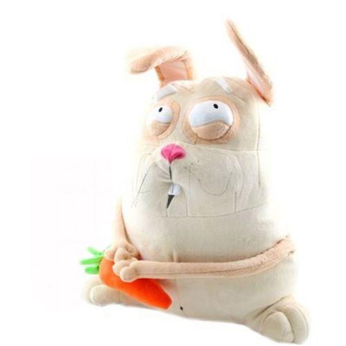 Мягкая игрушка Зайчонок с морковкой, 43 см
