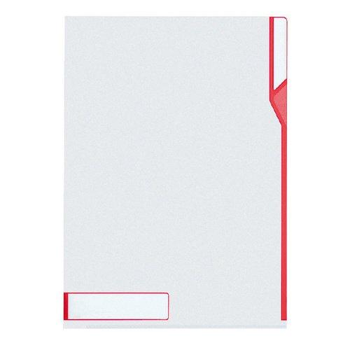 цены Папка со вставкой A4 красная
