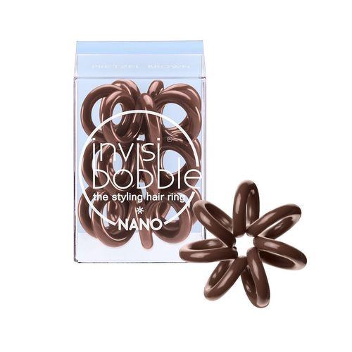 Резинка для волос Nano Pretzel Brown invisibobble резинка для волос original pretzel brown 3 шт коричневая