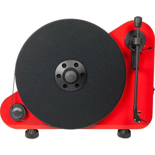 Виниловый проигрыватель VT-E R OM 5e, красный виниловый проигрыватель pro ject juke box e white om 5e уценённый товар