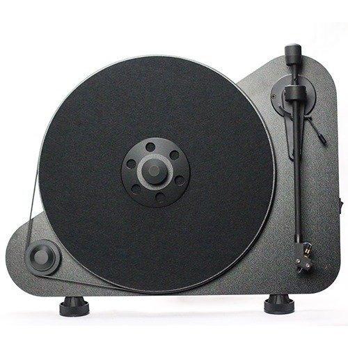 Виниловый проигрыватель VT-E R OM 5e, черный виниловый проигрыватель pro ject juke box e white om 5e уценённый товар