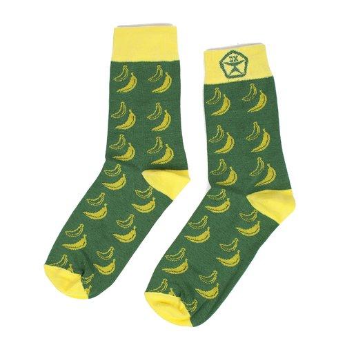 купить Носки Банан, S, зеленые дешево