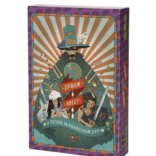 Настольная игра Оранж Квест книга игра поисковый квест пропажа в зоопарке