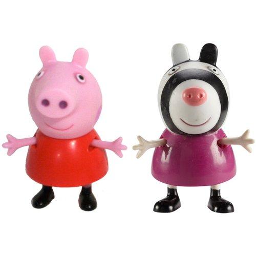 Купить Игровой набор Пеппа и Зои , 5 см, Peppa Pig, Мир героев