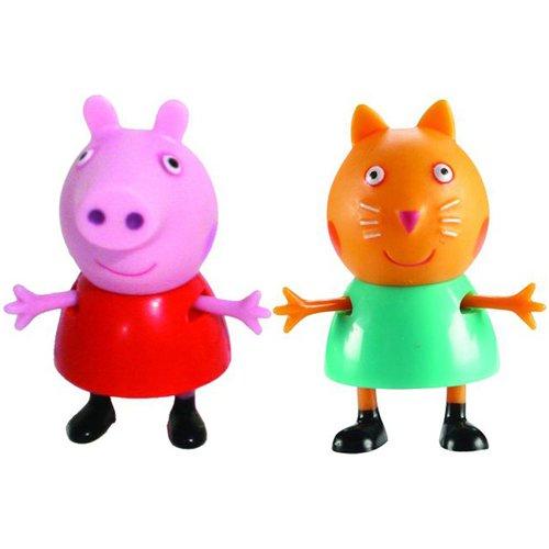 Купить Игровой набор Пеппа и Кенди , 5 см, Peppa Pig, Мир героев