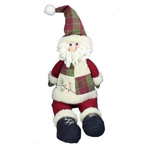 Новогодняя игрушка Сидящий Санта / Снеговик цена