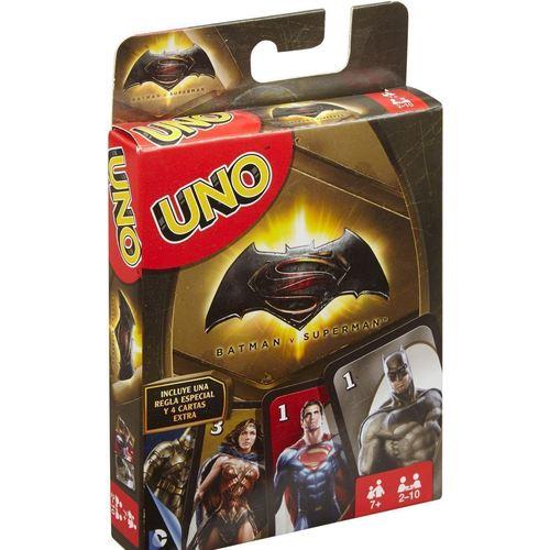 """Настольная игра """"Uno. Бэтмен против Супермена"""" стоимость"""