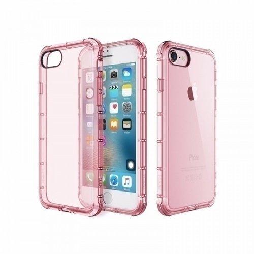 "Чехол ""Space Fence"" для iPhone 7 прозрачно-розовый"
