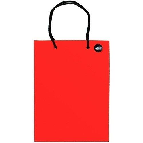 цены Пакет подарочный красный