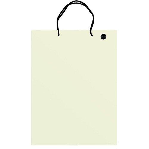 Пакет подарочный бежевый