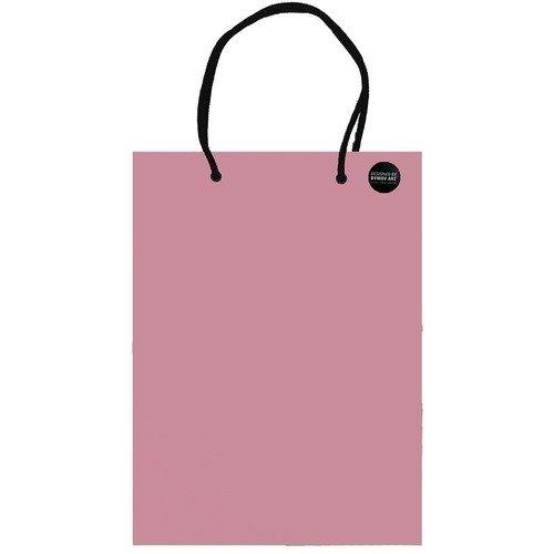 Пакет подарочный розовый