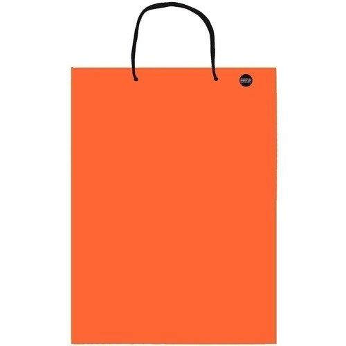 цена на Пакет подарочный А3, оранжевый, 30 х 40 см