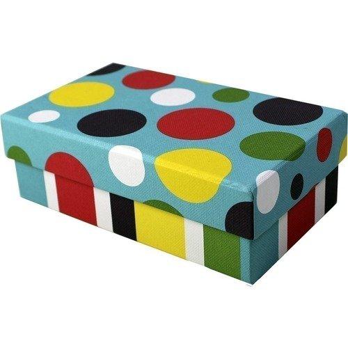 """Коробка подарочная """"Горох"""", 6 х 10 18 см"""