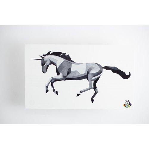 """Временное тату """"Prancing Unicorn"""""""
