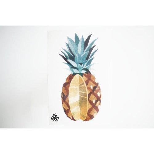 """Временное тату """"Pineapple"""""""