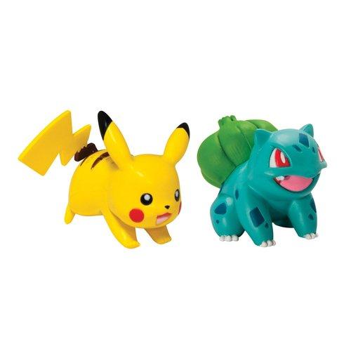 Набор из 2 фигурок «Пикачу + Бульбазавр»
