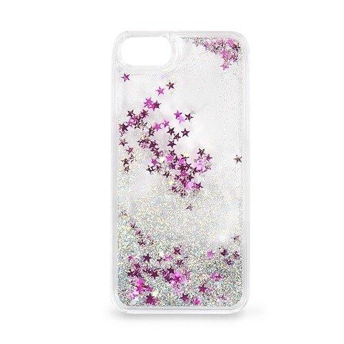 """Крышка задняя для iPhone 7 """"Блестки с жидкостью"""", белая аксессуар крышка задняя iridium для iphone 6 4 7 inch black"""