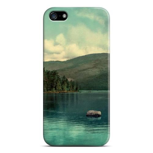 """лучшая цена Чехол для iPhone 5 """"Озеро"""""""