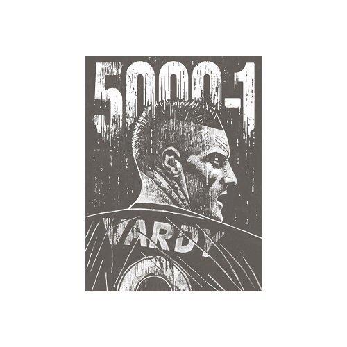 Постер Победа Лестер Сити в английской Премьер-лиге А2 варди джейми джейми варди из ниоткуда