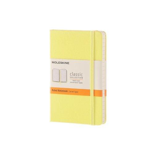 Блокнот Classic Pocket, 96 листов, в линейку, желтый блокнот pocket 96 листов в линейку бордовый