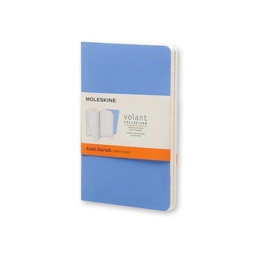 "Блокнот ""Volant"" Pocket, 40 листов, в линейку, синий/темно-синий цена и фото"