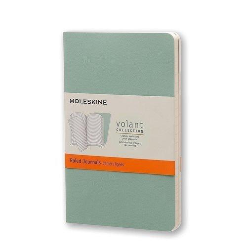 Блокнот в линейку Volant Pocket светло-зеленый / темно-зеленый палантин женский elitplatok цвет темно зеленый pl 51 2 размер 100 х 190 см