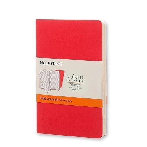 """Блокнот """"Volant"""" Pocket, 40 листов, в линейку, бордовый/красный цена и фото"""