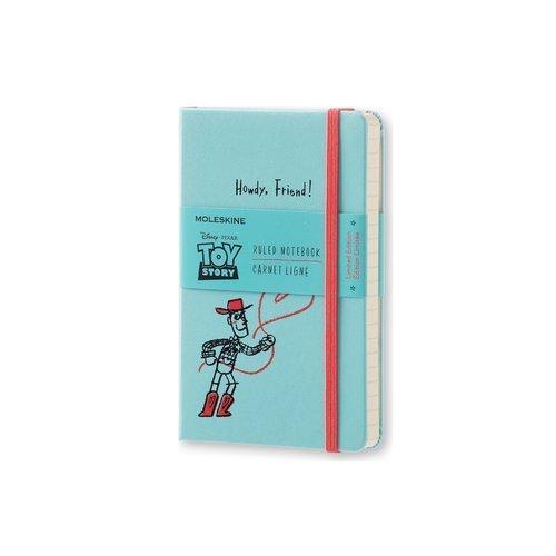 Блокнот Toy Story Pocket, 96 листов, в линейку, голубой блокнот pocket 96 листов в линейку бордовый