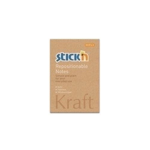 """Блок самоклеящийся бумажный """"Kraft Notes"""""""