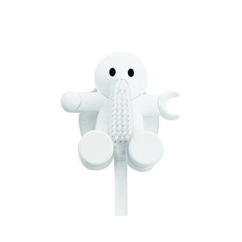 "Держатель для зубной щетки ""Amico"", белый держатель для зубной щетки би хэппи андрей 4 х 6 х 3 5 см"