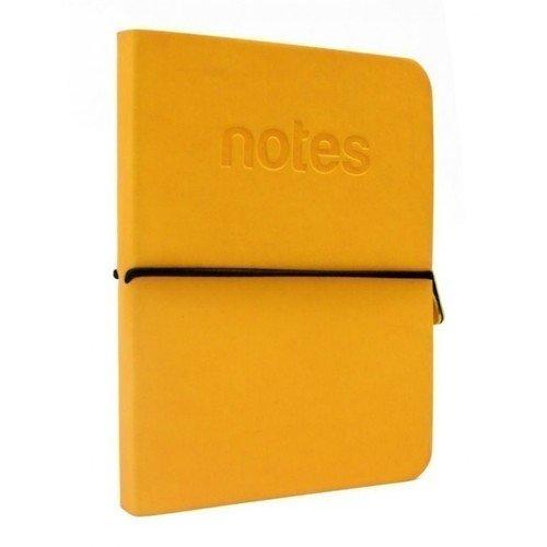 Блокнот А6 желтый на резинке владимир перельман блокнот рецепты успешного неоновый желтый