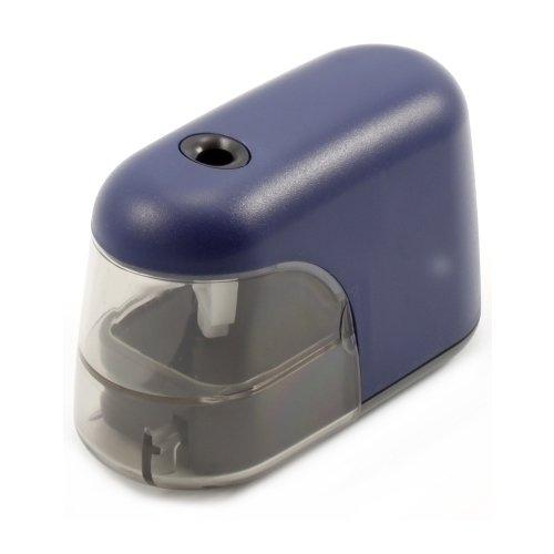 Точилка электрическая синяя точилка пластмассовая тройная эргономичный дизайн блистерная упаковка 0969 0002