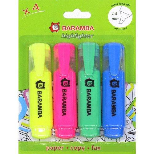 Набор маркеров, 4 цвета набор для творчества пластилин eberhard faber на водной основе 4 неоновых цвета 520гр в карт коробке