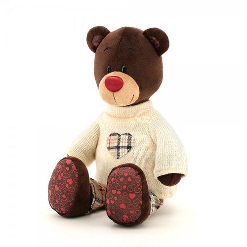 Купить Мягкая игрушка медведь в свитере, 30 см, Orange Toys, Мягкие игрушки