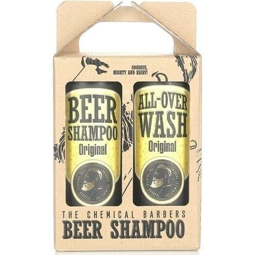Набор подарочный Шампунь пивной и очищающее средство для лица dnc gemene набор стимулятор против выпадения волос 55 мл шоколад для лица подтягивающий 4 х 7 5 мл подарок маска для лица 15 мл