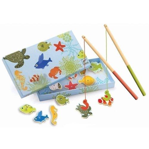 Магнитная игра Тропическая рыбалка игры для малышей djeco магнитная игра тропическая рыбалка