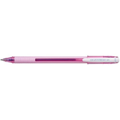 """Шариковая автоматическая ручка """"Jetstream"""" SX-101-07FL розовая"""