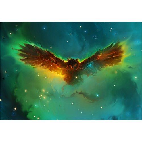 Принт Owl Nebula А4 футболка print bar nebula star