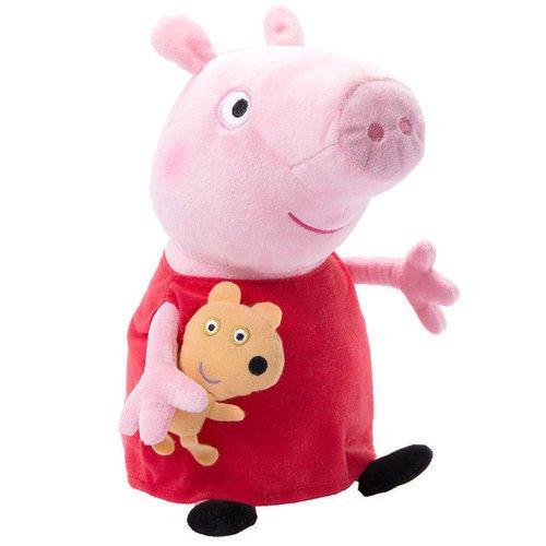 """Мягкая игрушка """"Пеппа с игрушкой"""", 40 см цена и фото"""