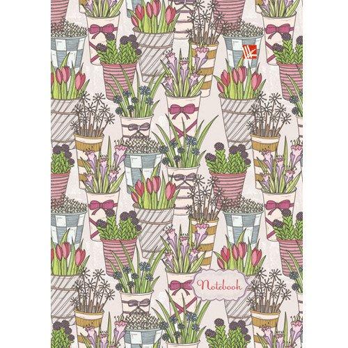 Фото - Книга для записей Букеты А6 шторы с фотопечатью цветочные букеты из сатена 290х265 см
