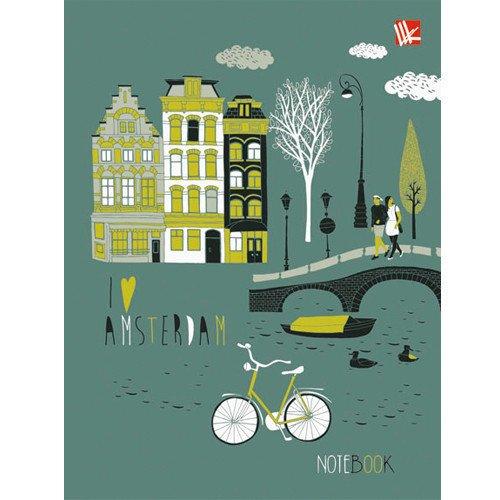 Фото - Книга для записей Городские улицы А6 книга для записей 80 листов романтика кошки а6 кзф6801279
