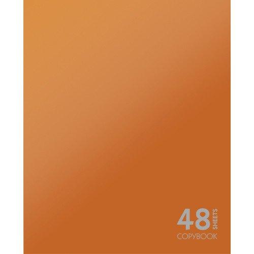 Тетрадь в клетку Сияние цвета. Оранжевый А5 тетрадь любимые цвета а5