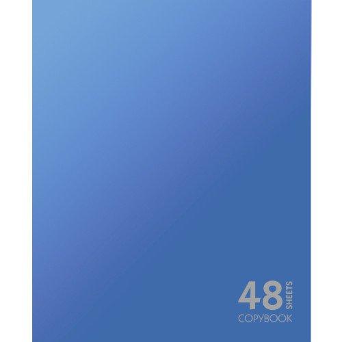 Тетрадь в клетку Сияние цвета. Синий А5 тетрадь любимые цвета а5