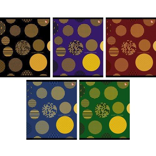 Тетрадь в клетку Оригинальный орнамент А5 тетрадь любимые цвета а5