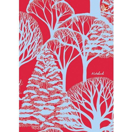 """Записная книжка """"Орнамент. Деревья"""" А6, 80 листов, в линейку орнамент смайлики а6 80 л"""